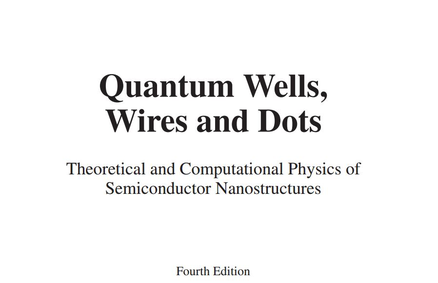 دانلود رایگان کتاب Quantum Wells, Wires and Dots: Theoretical and Computational Physics of